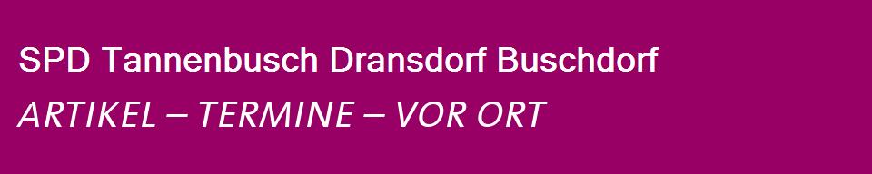 Start - SPD Ortsverein Tannenbusch Dransdorf Buschdorf